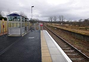 Conon Bridge railway station - Conon Bridge station, 2013