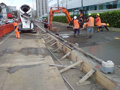 hur länge brinner betong