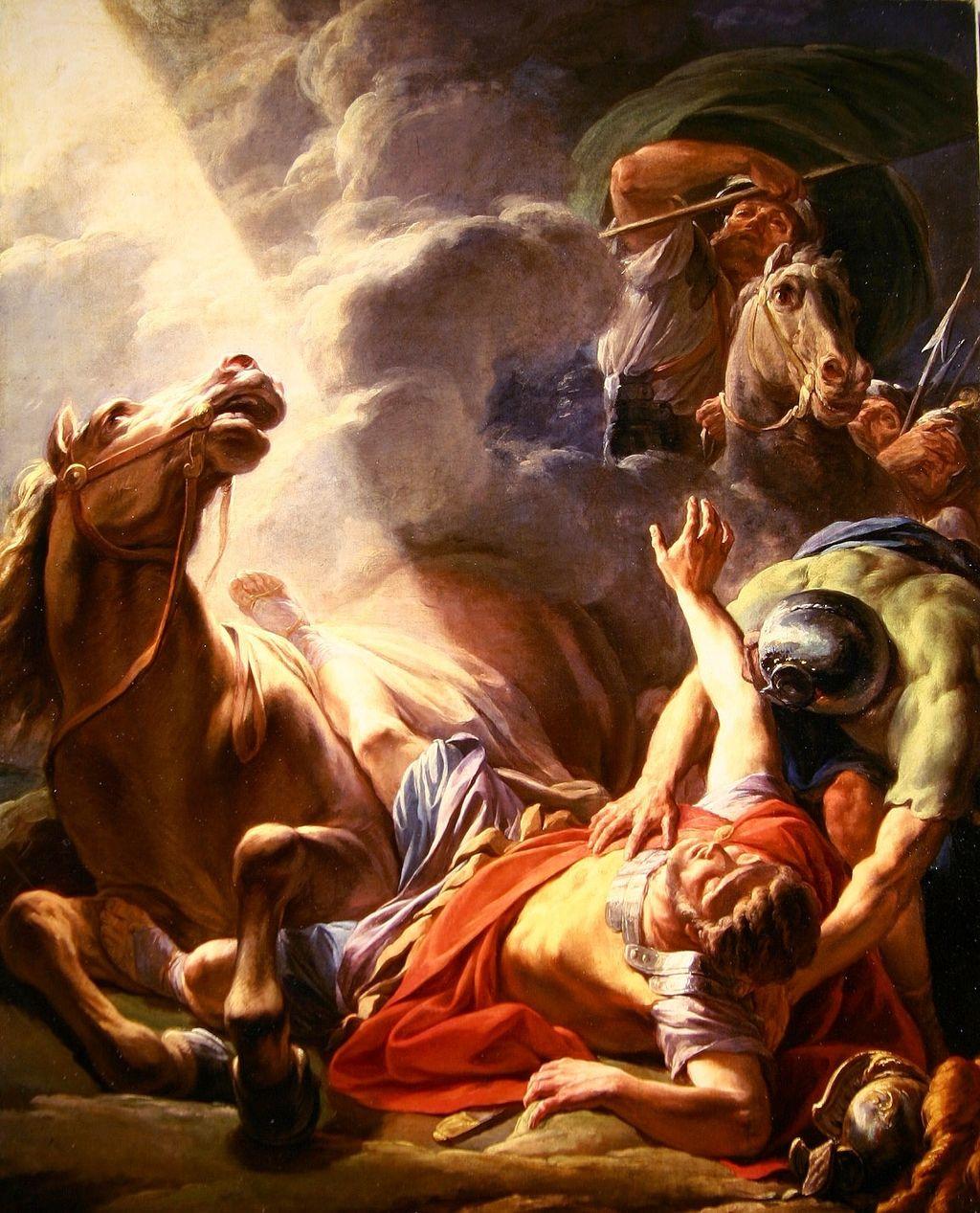 말에서 떨어지는 사울 , Nicolas Bernard Lépicié