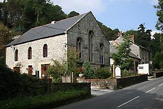 Treverbyn - A converted Methodist chapel at Carthew