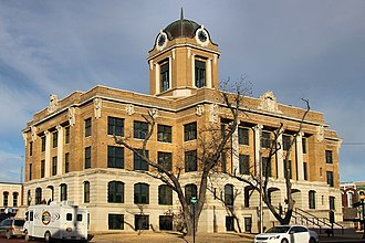 Cooke County, Texas - Image: Cooke county tx courthouse 2015