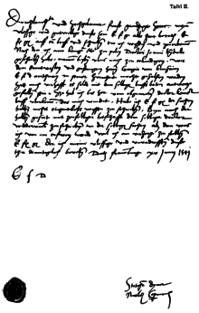 copernicus 1541 letter in german to duke albrecht of prussia