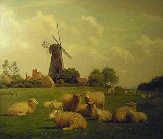 William Sidney Cooper - Herne Mill