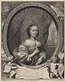 Cornelis van Dalen the Younger, after Cornelis Jonson van Ceulen, Anna Maria van Schurman, c. 1650, NGA 156064.jpg