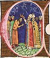 Coronation of Coloman (Chronicon Pictum 101).jpg