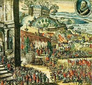 Coronation of the Hungarian monarch - Coronation of Matthias II in Pozsony in 1608