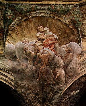 Assumption of the Virgin (Correggio) - Image: Correggio 035