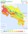 Costa-Rica DNI Solar-resource-map GlobalSolarAtlas World-Bank-Esmap-Solargis.png