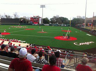 Houston Cougars baseball - Cougar Field, the home of the Houston Cougars