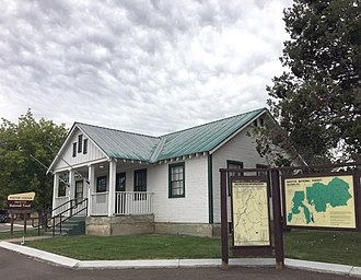 National Register of Historic Places listings in Adams County, Idaho - Image: Council Ranger Station, Council, Adams County, Idaho