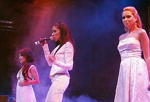 Monrose - Monrose during a charity concert in Cologne, Germany in November 2007.