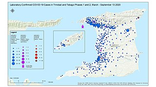 COVID-19 pandemic in Trinidad and Tobago Ongoing COVID-19 viral pandemic in Trinidad and Tobago