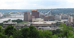 Downtown Covington skyline