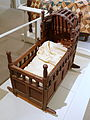 Cradle, Massachusetts, 1665-1685, red oak, white pine - Concord Museum - Concord, MA - DSC05856.JPG