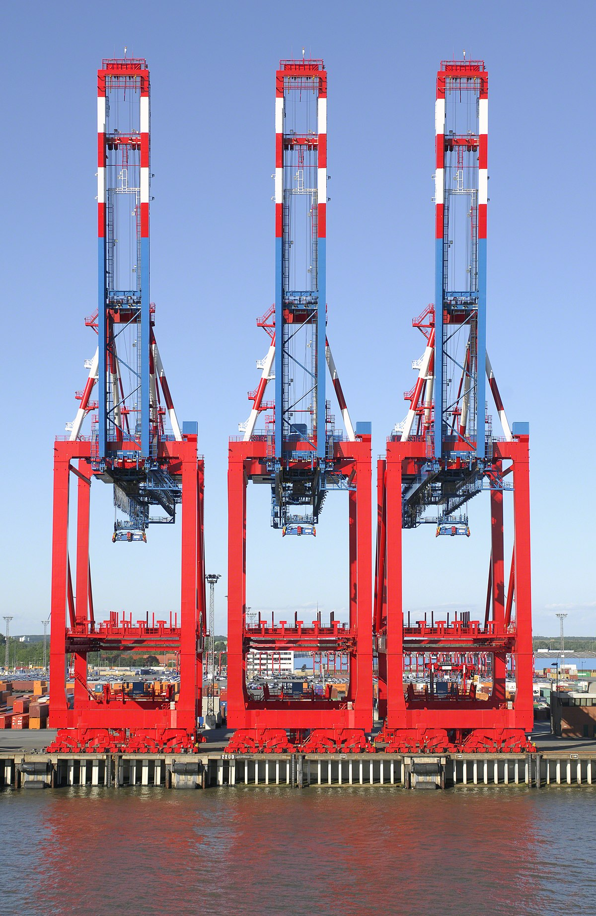 Container crane wikipedia for The crain