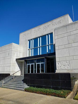 Crenshaw County, Alabama - Image: Crenshaw County Alabama Courthouse