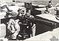 Crew with 3.7 inch AA gun rangefinder Lytton Qld Nov 1943 AWM 060059.jpg