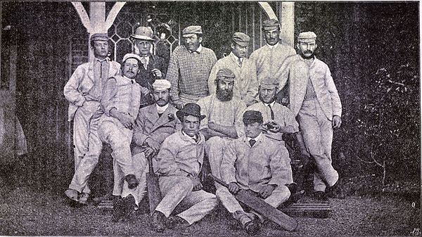 Cricket, WG Grace, 1891- United South of England Eleven 1871 p48.jpg