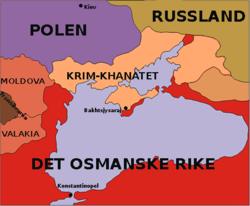 Plasseringa Til Krim Khanatet