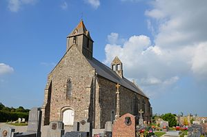 L'église de Crosville-sur-Douve