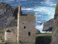 Bergbau-Landschaft von Cornwall und West-Devon