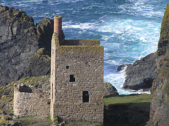 Cornwall and West Devon Mining Landscape - Part of Crown Mines, Botallack (St Just Mining District)