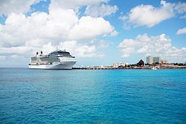 Cruiseschip Celebrity Equinox in Cozumel