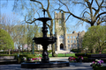 Cunniffe Fountain and Keating Hall.png