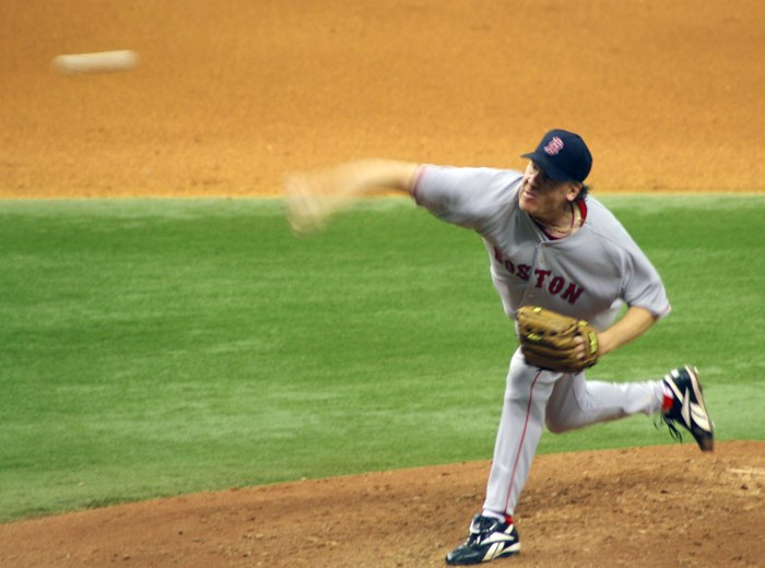 Curt Schilling Pitch