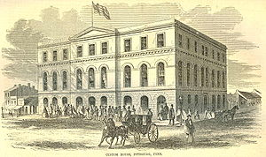 Custom House Pittsburg 1857