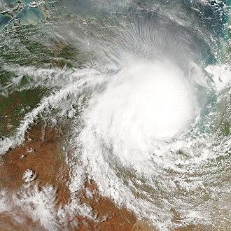 Cyclone Harvey - Image: Cyclone Harvey 2005