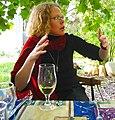 Dégustation du vin blanc de Franschhoek.jpg