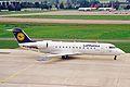 D-ACLB CRJ100ER Lufthansa ZRH 04SEP02 (8265688573).jpg