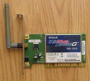 Adaptador de rede PCI com tecnologia Wi-Fi