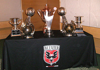 History of D.C. United - D.C. United trophy collection as of 2007.