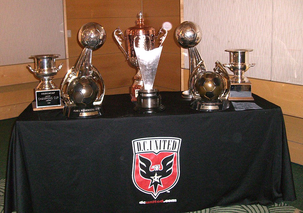 D.C. United trophy case
