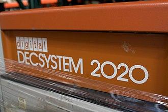 DECSYSTEM-20 - DECSYSTEM-2020 front panel