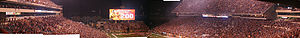 Texas Longhorns football under Mack Brown - Image: DKR Panorama 2008 11 28 200wins