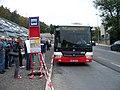 DOD metro Nemocnice Motol 2014, speciální autobus (02).jpg