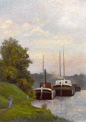 Albert Dubois-Pillet - Charlands Sur La-Seine