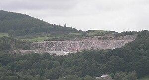 Dalbeattie - Craignair quarry is a notable town landmark