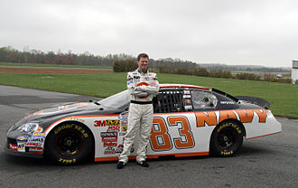 JR Motorsports - Dale Earnhardt Jr. and the No. 83 Navy Chevrolet in 2008.