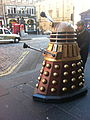 Dalek cruising in Scotland (10224805286).jpg