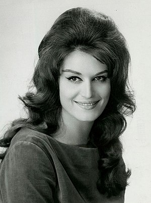 National Defence Medal - Singer and actress Dalida, a recipient of the Bronze grade of the National Defense Medal