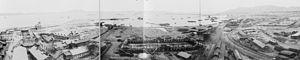 Russian Dalian - A panorama of Dalniy around 1898.