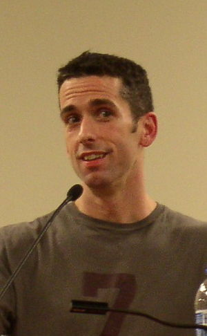 Dan Savage speaking at Bradley University in P...