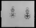Dannebrogsmands tecken, miniatyr NO - Livrustkammaren - 79273.tif