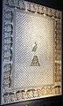 Daphné, mosaico della fenice con cornice di capri affrontati, VI sec dc. 02.JPG