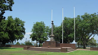 Bicentennial Park (Darwin) - Darwin War Memorial
