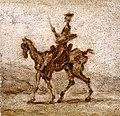 Daumier - Don Quichotte à cheval, 1855 entre, 1860 et.jpg